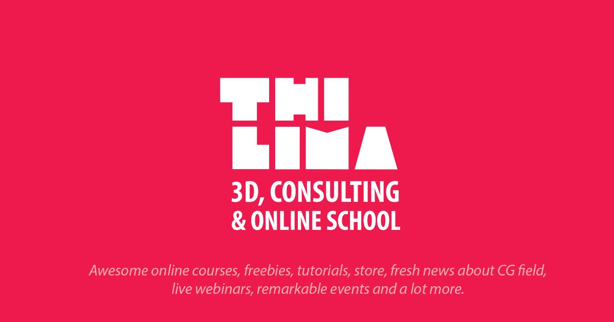 Thi Lima | 3D, Consulting & Online School - Online Courses